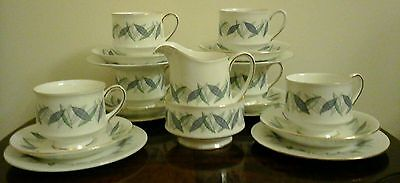 Vintage 1950's 1960's Royal Standard Bone China Trend Pattern Tea Set 20 Pieces