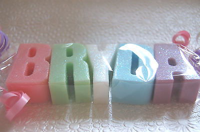 Amazing PERSONALISED Alphabet Letter Name Soaps Great Gift Idea! Smell Gorgeous!