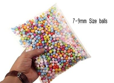 1Bag Mini Styrofoam Wishing Bottle Filler Foam Beads Balls Crafts DIY Fancychu25
