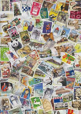 1500 All Different Australia stamps up to 2015. Large lot suit collector