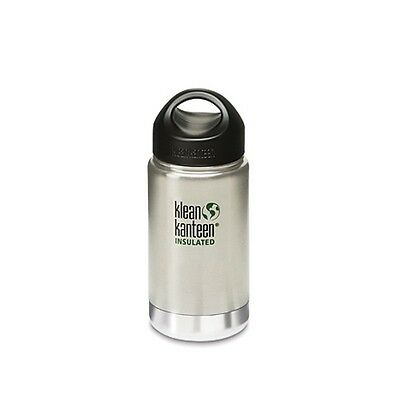 Bouteille isotherme 0.35L Klean Kanteen inox brossé - Neuf