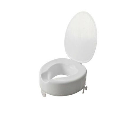 """Serenity Raised Toilet Seat with lid 2"""" 64622 11915-2"""""""