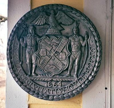 """New York City West Side (Miller) Highway  Architectural  """"1664"""" plaque"""