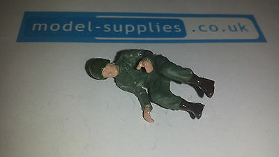 Dinky 612 / 615 US Army Jeep Reproduction Plastic Painted Driver