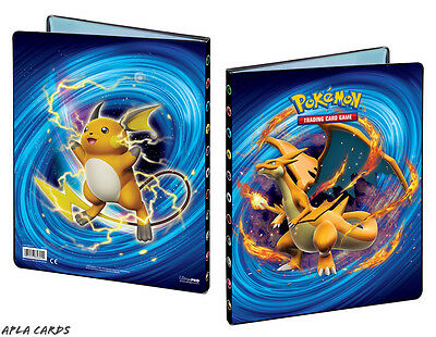 Ultra Pro Pokemon Xy-12 Evolutions A4 9-Pocket Card Portfolio / Folder / Album