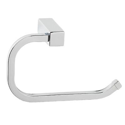 Enzo Barelli MODENA TOILET ROLL HOLDER WITHOUT LID Modern Style, CHROME Finish