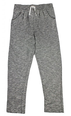 Girls Jogging Bottoms Ex Store Grey 7-13 Years 100% Cotton Brand New