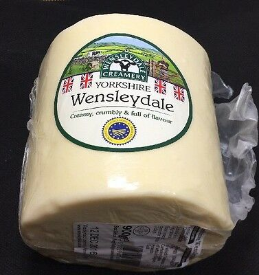 Yorkshire Wensleydale Cheese Dalesman 900g Great With Christmas Cake