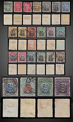 1913 -1923 BRITISH SOUTH AFRICA Co RHODESIA KING GEORGE V SCT 119-138 SG ?
