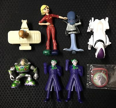 Lot Of 8 McDonalds Happy Meal Toys Disney Batman Toy Story Pets Monsters Aliens