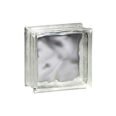 Wavy Glass Block 8 x 8 x 2 in (10 Pack)  SEE SPECIAL OFFER BELOW!