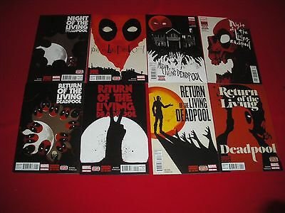 Night Of The Living Deadpool 1  2  3  4 Return Of The Living Deadpool 1 2 3 4 Nm