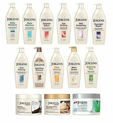 Jergens Body Lotion/ Moisturizer Pumps (Full Range)