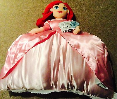 Disney store Ariel the little mermaid pillow pal plush new with tags from USA