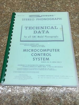Seeburg Stereo Phonograph Manual For All SMC Models Phonograph. Jukebox