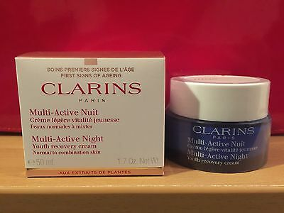 Clarins Multi Active Night Cream 50ml - Normal To Combination Skin