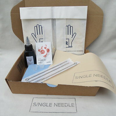 Single Needle Stick And Poke DIY - PRACTICE KIT - Learn To Tattoo