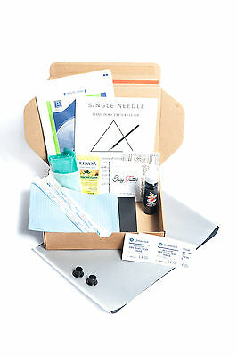 Single Needle Stick And Poke DIY Tattoo Kit - SINGLE