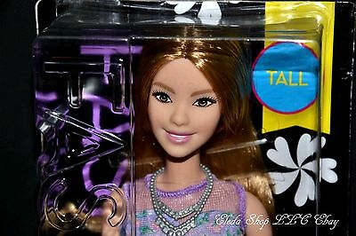 No. 53 Lovely In Lilac Tall Barbie Doll Evolution Fashionistas Bebe Face