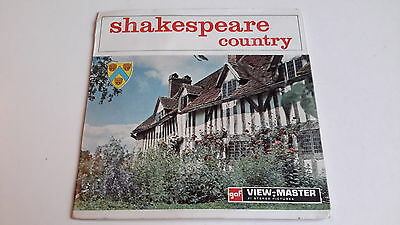 Viewmaster packet set 3d SHAKESPEARE COUNTRY