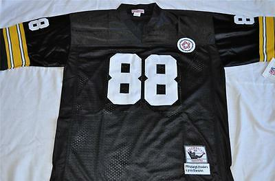Pittsburgh Steelers  88 Lynn Swann Black Authentic Throwback Jersey Sewn Nwt c5b033c5d