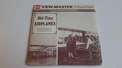 Viewmaster packet set 3d OLD TIME AIRPLANES