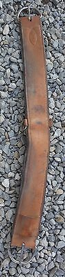 """34"""" Tory Leather Western Show Saddle Girth Cinch used horse tack"""