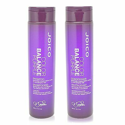 Joico Color Balance Purple Shampoo & Conditioner 10.1oz Duo