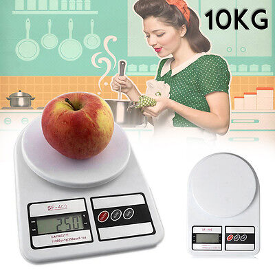 10kg Digital Electronic LCD Kitchen Postal Parcel Food Weight Weighting Scales