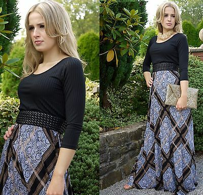Extra Tall Maxi Dress Maternity Wear Christmas Party Occasion UK 8/10 By MontyQ