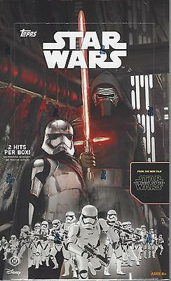 2015 Star Wars Force Awakens Serie 1 HOBBY Box sealed OVP