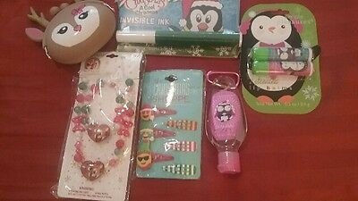Girls Christmas Stocking Stuffer Set (6 items in set) Ages 3 and Up