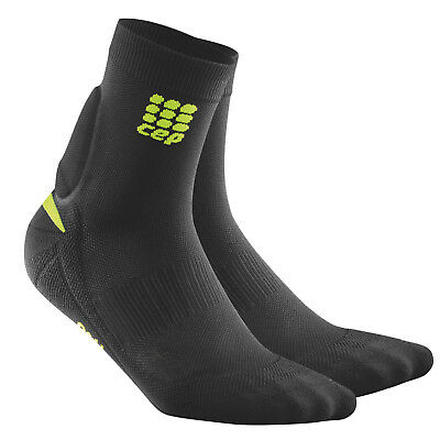 CEP Men's Ortho+ Achilles Support Socks Black-Green Size 3