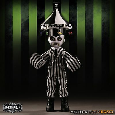 Living Dead Dolls Presents Beetlejuice Showtime Mezco IN STOCK!