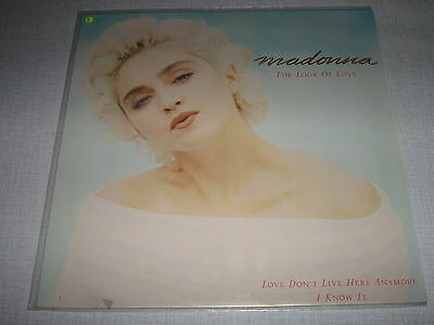 """Madonna Maxi Vinyl 12"""" Germany The Look Of Love"""