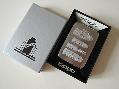 Authentic Zippo Lighter - 1941 Replica 208528 - No Inside Guts Insert