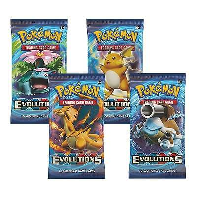 POKEMON CARDS XY-12 EVOLUTIONS SEALED BOOSTER PACKS (X3) with Fast Dispatch Time