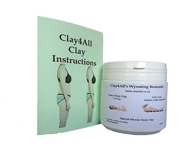 500 ml inch loss/toning/firming body wrap clay