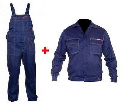 Overalls + Work Jacket Lahti Pro Blue Safety Trousers Super Offer