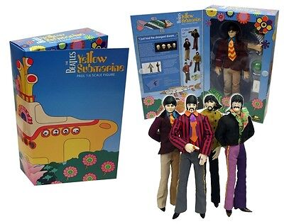 The Beatles Yellow Submarine 12''/30cm Factory 4 Figure Set Limited Edition 2012