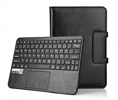 "SonnyGoldTech - Android Tablet Pc 9.6""-10.1"" Bluetooth Touchpad Tastatur Hülle"