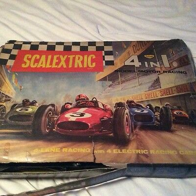 VINTAGE SCALEXTRIC 4 in 1