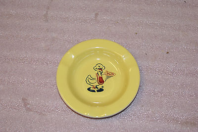 1960s Chicken Delight Advertising Ashtray Erica Vitrified England