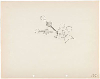 """Mickey Mouse """"steamboat Willie"""" 1928 Original Production Drawing - Historic Art!"""