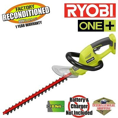 Ryobi P2603 One+ 18-Volt  Cordless Hedge Trimmer (Tool Only) ZRP2603 Reconitiond
