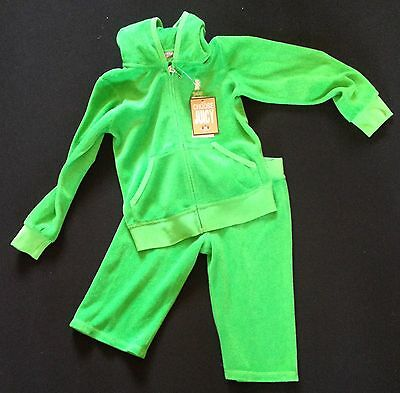 Girls Juicy Tracksuit With Cropped Bottom Age 4 Rrp £115 Now £32.50