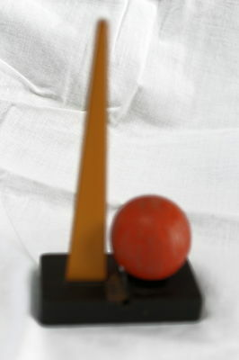 Vtg New York World's Fair Pencil Bakelite Sharpener Trylon And Perisphere1939-40