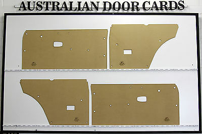 Datsun 1200. Coupe, Panel Van. Door Cards / Trim Panels. Nissan B110 Coupe
