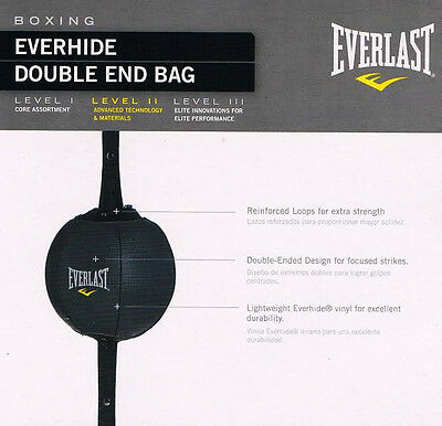 Everlast Floor To Ceiling Speed Ball Boxing Mma Training Punch Double End Bag