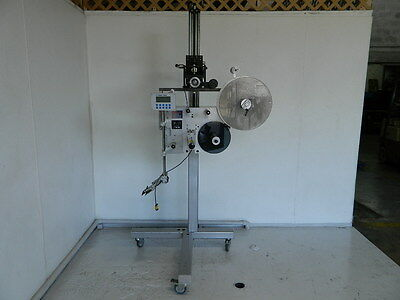 """Label-Aire Model 3115-1500  4"""" Lh Wipe On Labeler Labeling Machine"""